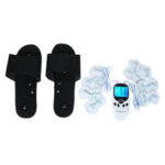 New              Massage Slipper 6 Massage Modes Electronics Stimulstor Body Slimming Pulse Massager Muscle Pain Relax Therapy Machine