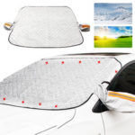 New              Universal 9PCS Magnets Car SUV Window Snow Cover Anti-frost Sun Shade Protection Cover Car