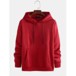 New              Men's New Casual Fashion Hooded Fashion Line Stitching Sweat