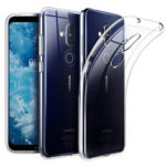 New              BAKEEY Transparent Ultra-thin Shockproof Soft TPU Protective Case for NOKIA X7 / NOKIA 8.1