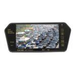 New              7″ LCD Mp5 Bluetooth Reversing Camera Car Rear View Parking Mirror Monitor