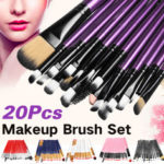 New              20pcs Makeup Brushes Kit