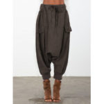 New              Causal Loose Elastic Waist Harem Pants