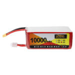 New              ZOP Power 22.2V 10000mAh 65C 6S Lipo Battery XT60 Plug for FPV RC Quadcopter Agriculture Drone