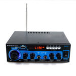 New              AK-660 1000W Dual Channel bluetooth Power Amplifier HiFi AMP Car Stereo Audio Support USB SD Card FM MP3 Speaker with Remote