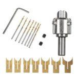 New              16pcs 14-25mm Wood Bead Maker Beads Drill Bit Milling Cutter Set Woodworking Tool