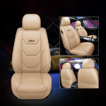 New              1 PC Universal Full Car Seat Mat Cover PU Leather Breathable Cushion Pad