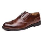 New              Brogue Carved Formal Dress Shoe Casual Business Oxfords