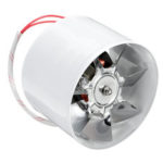 New              4Inch 100mm Inline Duct Fan Booster 25W Exhaust Blower Air Cooling Vent 140m3/h Ventilation Fan