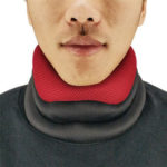 New              Polyester Spandex Foam Neck Support Cervical Spine Care Breathable Traction Device Brace Office Sports Fitness Fatigue Relaxing Tool