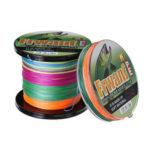 New              100/300M 8 Strands Braided Fishing Line PE Braid Line Multicolor Super Power