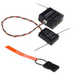 New              AR8000 2.4GHz DSMX 8 Channel Receiver Support For Spektrum Transmitter DX7s DX8 DX9