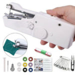 New              Mini Portable Sewing Machine Handheld Cordless Quick Clothes Stitch For Home Travel