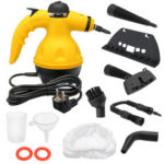 New              Portable Multifunction Electric Handheld Handy Steam Cleaner Washer Home Car Motorcycle Bicycle