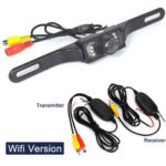New              Wifi CMOS Car Rear View Reverse Backup Camera Parking Night Vision Waterproof 7 LED