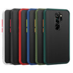 New              For Xiaomi Redmi Note 8 Pro Case Bakeey Armor Shockproof Anti-fingerprint Matte Translucent Hard PC&Soft TPU Edge Protective Case