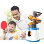 New              15pcs/min Ping Pong Table Tennis Robot Automatic Ball Launcher Machine for Kids Grown-up Professional Athletes Students Beginners Training