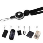 New              Bakeey 2 in 1 Detachable Universal Phone Ring Holder & Neck Strap Phone Lanyard Work Permit Badge Key Rope for All Smartphone