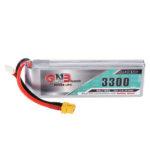 New              Gaoneng GNB 11.1V 3300mAh 90C 3S Lipo Battery XT60 Plug for for Fixed Wing Vehicle RC Model
