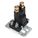 New              4 Pin 12V 500A Relay Car Starter On/Off Power Switch Dual Battery Isolator Black