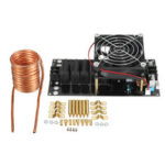 New              Geekcreit® 1000W 20A ZVS Induction Heating Machine with Cooling Fan Copper Tube DC12-36V Heater Module