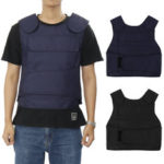 New              Unisex Tactical Tank Tops 4 Protective Plates Security Carrier Training Military Jacket