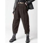 New              Women Elastic High Waist Harem Long Trousers