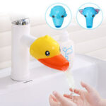 New              100mm Bathroom Baby Kids Animal Toys Water Tap Faucet Extender