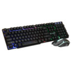 New              D280 104Key RGB Backlit Light Wired Mechanical Gaming Keyboard and 1600 DPI Gaming Mouse Set