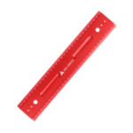 New              RED ARROW 300mm Metric Aluminum Alloy Striaght Ruler Gauge Precision Woodworking Square Measuring Tools