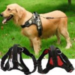 New              S/M/L/XL Dogs Harness Collars Tactical Vest Dog Training Harness Dog Traction Rope Hunting dog accessories