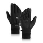 New              Men Women Touch Screen Gloves Winter Waterproof Warm Windproof Riding Skiing Sports Outdoor Fleece Lined Thermal
