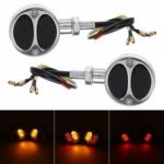 New              Motorcycle Bullet Turn Signals Tail Lights For Harley Cafe Racer Bobber Chopper