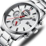 New              CURREN 8352 Business Style Calendar Men Wrist Watch
