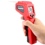 New              LCD Screen Hand-held Digital Infrared Thermometer Laser Digital Pyrometer
