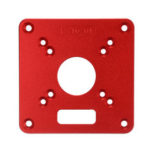 New              120x120mm Aluminum Alloy Router Plate for Makita RT0700C Router Trimmer Woodworking