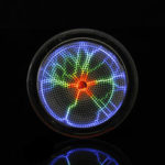New              Pocket Plasma Disk Sensor Lighting Plate Disco Party Club Decorations