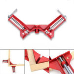 New              90 Degree Right Angle Picture Frame Corner Clamp Holder Woodworking Hand Kit Red
