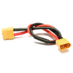 New              20pcs 20cm Battery ESC XT60 Plug Extension Wire Cable Male Female