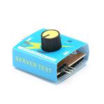 New              Servo Tester Third Gear Switch With Indicator Light 4.2V To 6.0v 4pcs