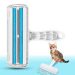 New              Pet Hair Remover Roller Self Cleaning Dog Reusabl Cat Hair Remover Fur Clothes Lint Removal Roller
