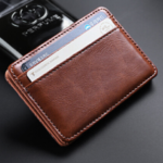 New              Men Vintage Thin Card Bag Car Holder Wallet