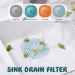 New              Floor Drain Cover Filter Bathroom Anti-Blocking Suction-Type Hair Stopper Sewer