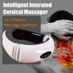 New              Hot Electric Cervical Neck Massager Body Shoulder Relax Massage Magnetic Therapy