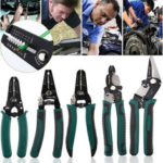 New              7 Inch Multifunctional Wire Stripper Plier Cable Crimper Cutter Decrustation Wire Pliers