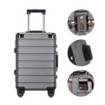 New              Xmund XD-XL4 20inch/24inch Travel Suitcase PC TSA Locks 360° Universal Wheel Luggage Case