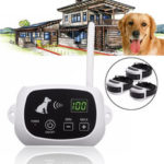 New              500 Meters Pet Electric Waterproof Rechargeable Wireless Remote Control 3 Dogs Fence Training System Pet Trainer