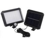 New              56 LED 50W Solar Street Light PIR Motion Sensor Security Lamp Outdoor Garden