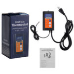 New              Digital Heat Mat Thermostat Controller for Seed Germination Reptiles and Brewing Breeding Incubation Greenhouse