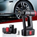 New               Audew 12V 160PSI Cordless Air Compressor Portable Tire Inflator LCD Rechargeable  Hand Held Digital Pump